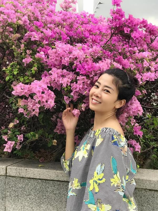 Tháng 4 vừa qua, Mai Phương được bạn thân Ốc Thanh Vân đưa đi Bhutan để cầu nguyện.