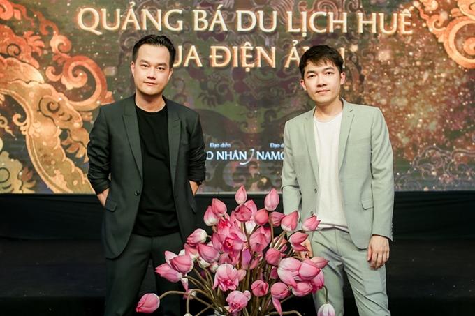Hai đạo diễn Bảo Nhân (trái) và Namcito cho biết dự án được mở đầu với phim nghệ thuật Hoa nở về đêm. Phim được ghi hình tại Huế từ năm 2018 và đang hoàn thành phần hậu kỳ tại Mỹ để kịp tham dự Liên hoan phim Cannes 2020.