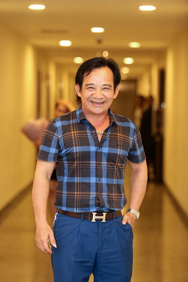 Nghệ sĩ hài Quang Tèo.