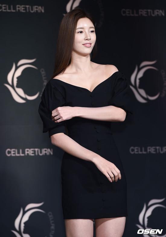 Người mẫu Yoo Seung Ok.