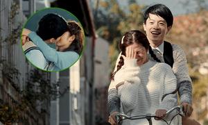 Harry Lu 'khóa môi' Oanh Kiều trong phim mới