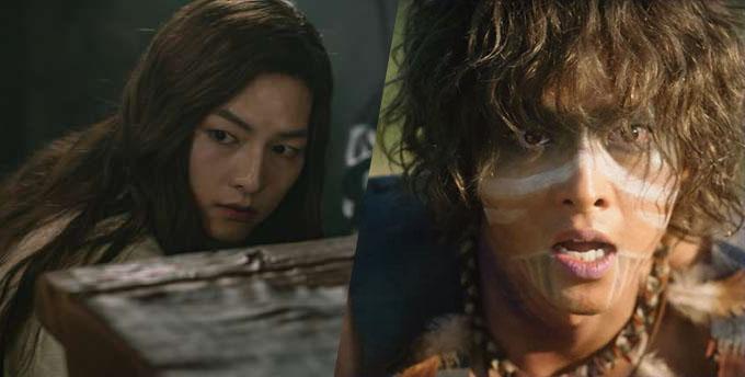 Hai vai diễn có tạo hình đối lập của Song Joong Ki.