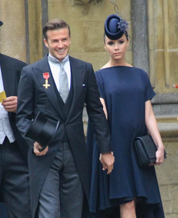Tháng 4/2011, cặp đôi biểu tượng thời trang tay trong tay dự đám cưới Hoàng tử Williams khi Vic đang mang bầu bé Harper được 7 tháng. Sự ra đời của cô con gái nhỏ giúp gia đình thêm gắn kết, hình ảnh nhà Becks thêm phần hoàn hảo, lung linh.