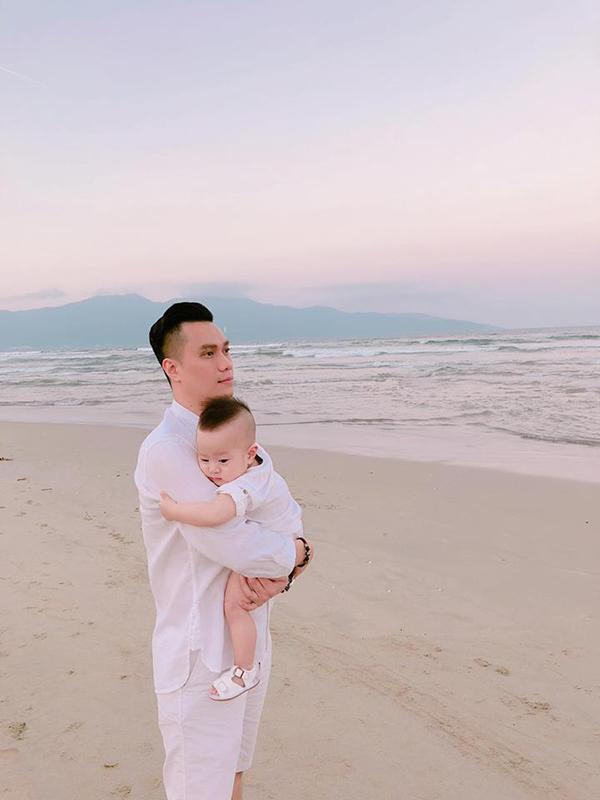 Đối với Việt Anh, con trai Đậu Đậu là điều tuyệt vời nhất đã đến trong cuộc sống của mình.