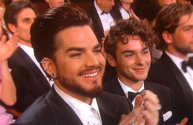 Adam Lambert và người tình trẻ Javi Costa Polo.