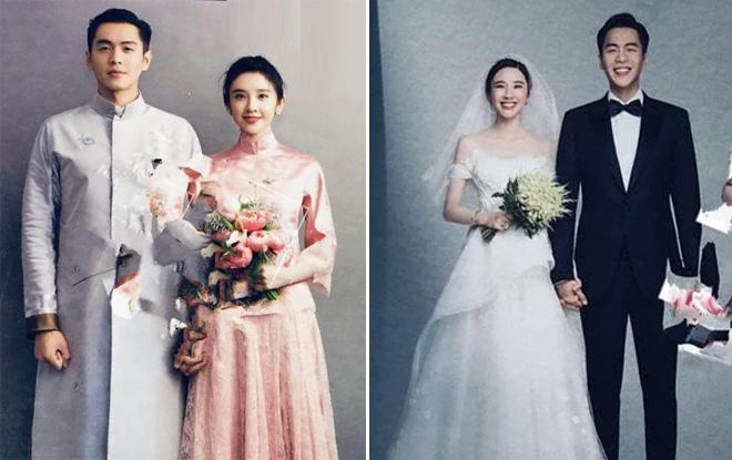 Ảnh cưới của cô dâu, chú rể.