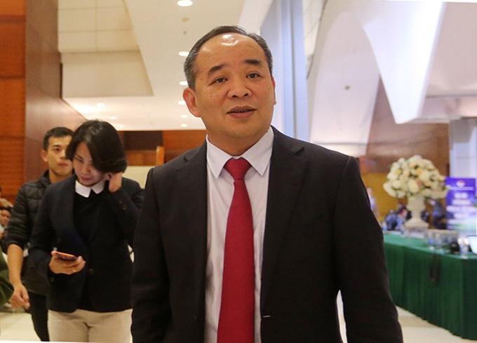 Chủ tịch VFF Lê Khánh Hải.