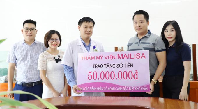 Vợ chồng chủ thẩm mỹ viện Mailisa làm thiện nguyện tại Vinh - 5