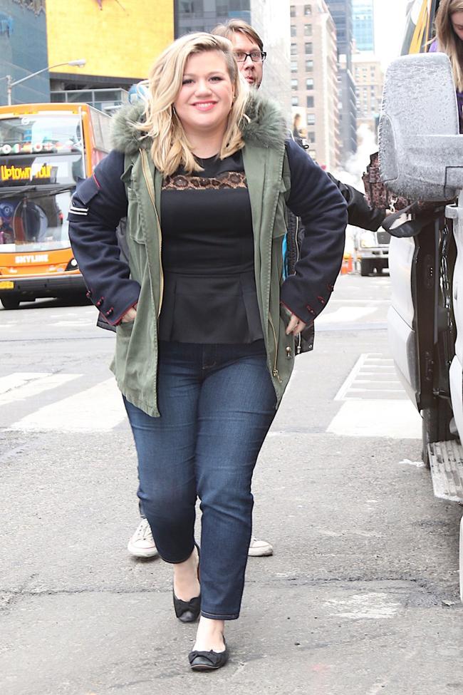 Thoải mái với vóc dáng ngoại cỡsong Kelly buộc phải giảm cân nhằm bảo vệ sức khỏe.