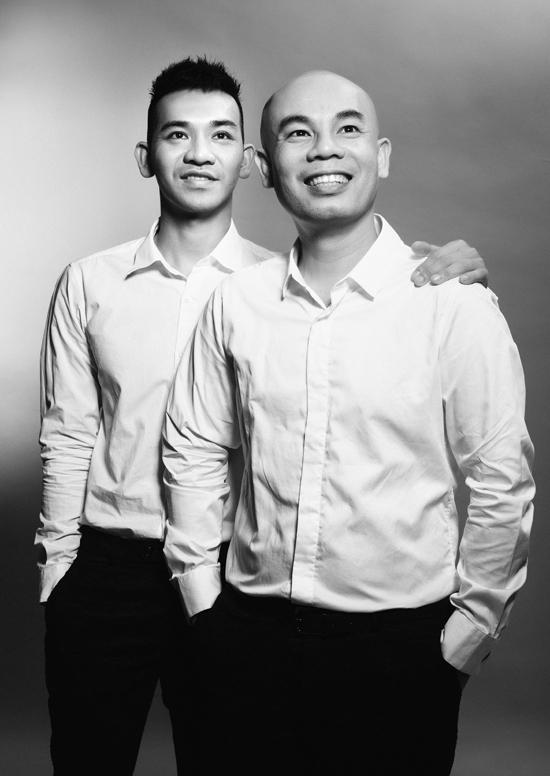 Hai nhà thiết kế Vũ Ngọc và Son.