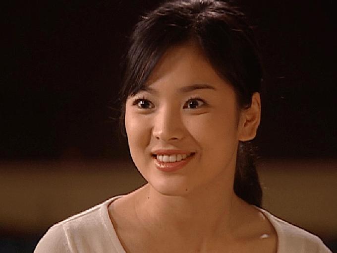 Gia đoạn 2001, nữ diễn viên có phần tròn trịa hơn.