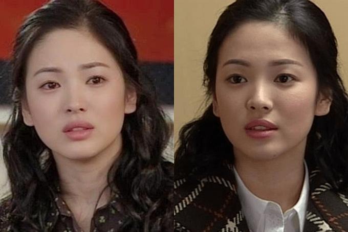 Vẻ mong manh, thuần khiết của Song Hye Kyo vào năm 2003.