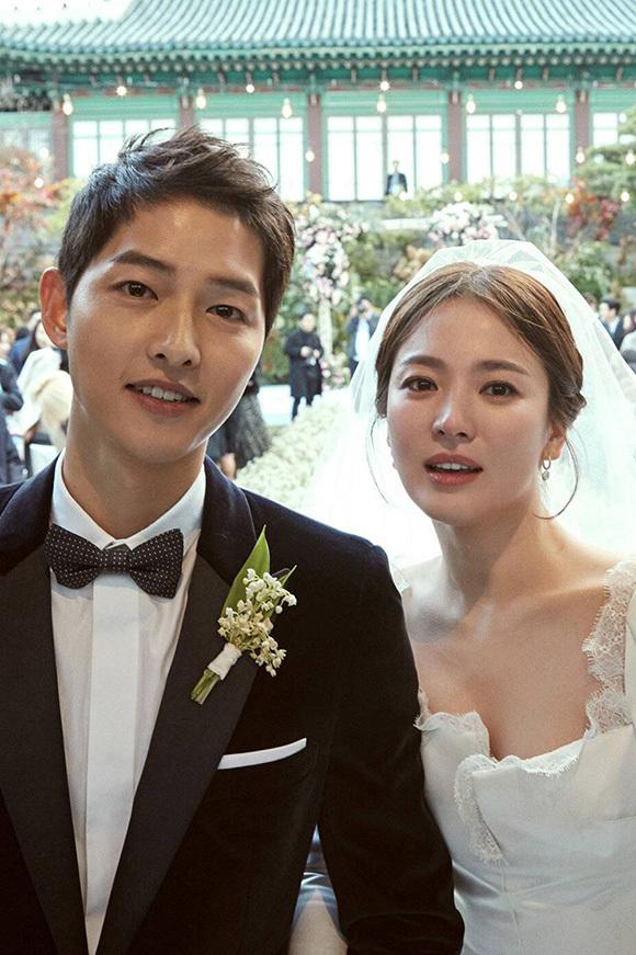 Song Joong Ki và Song Hye Kyo là cặp vợ chồng được nhiều người ngưỡng mộ.