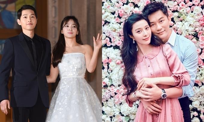Hai cặp đôi nổi tiếng Hoa - Hàn cùng chọn ngày 27/6 để nói lời chia ly.