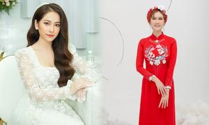 Top 10 áo dài cưới được yêu thích tháng 6