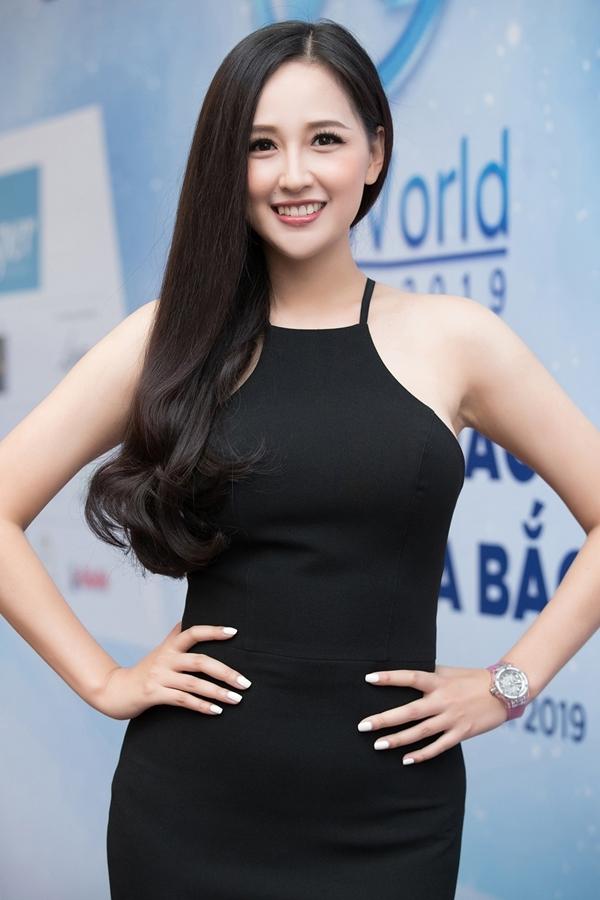 Hoa hậu Mai Phương Thúy trung thành với kiểu đầm ôm tôn dáng khi xuất hiện tại buổi sơ khảo phía Bắc Hoa hậu Thế giới Việt Nam 2019.
