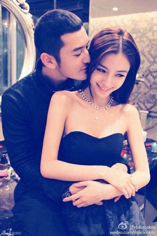 Huỳnh Hiểu Minh và Angelababy thuở mới yêu.