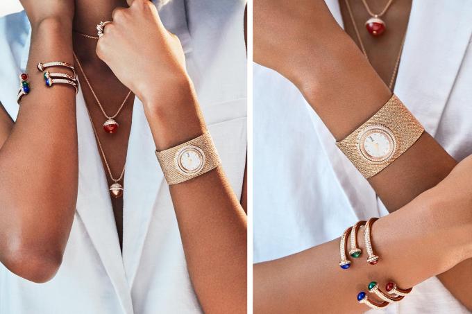 BST Piaget Possession với dây đeo đồng hồ đan thủ công dạng lưới Milanese