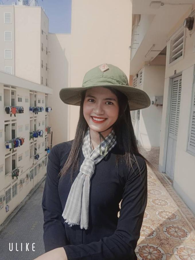Vẻ đẹp ngọc nữ của thí sinh Trần Đình Thạch Thảo