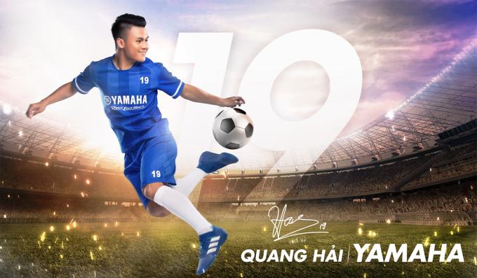 Người hâm mộ háo hức chờ đón các hoạt động mới trong vai trò đại sứ thương hiệu của Quang Hải và Yamaha.