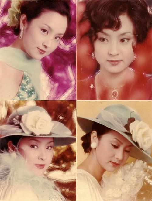 Bà Chân Trân thời trẻ nức tiếng vì đẹp.