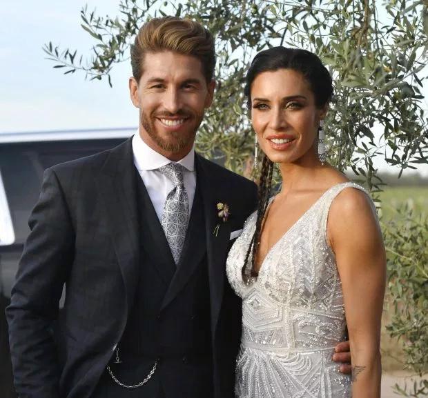 Đám cưới thu hút nhất vào tháng 6 là hôn lễ rình rang của Sergio Ramos và Pilar Rubio.