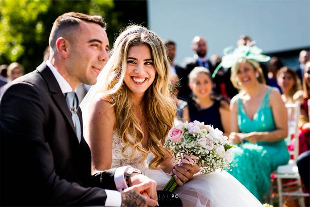 Đám cưới của tiền đạo Iago Aspaas