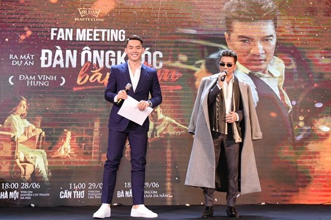 Đàm Vĩnh Hưng cũng tiết lộ, anh chuẩn bị thực hiện tuyển tập các ca khúc bolero và pop của mình để gửi đến khán giả. Nam ca sĩ cũng dời liveshow riêng sang năm 2020.