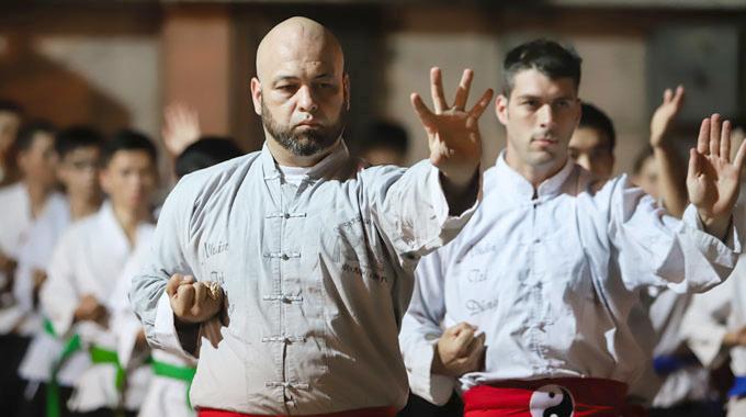 Pierre Flores khẳng địnhvõ truyền thống đủ sức chiến đấu với MMA. Ảnh: FB.