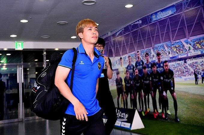 Công Phượng không thành công ở Incheon United và phải chia tay đội bóng Hàn Quốc sau 4 tháng. Ảnh: News1.