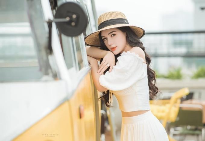 Bạn gái Trọng Đại lọt vào chung khảo Hoa hậu Thế giới Việt Nam - 4