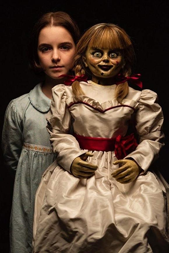 Với vai chính trong Annabelle: Ác quỷ trở về, Mckenna Grace khẳng định sự chín trong diễn xuất, lột tả thần thái trí tuệ, điềm tĩnh và can đảm của nhà trừ tà nhỏ tuổi. Trong quá trình quay phim này, cô bé từng gặp một chuyện kinh dị không kém nội dung phim. Trong ngày đầu tiên đến phim trường, cô bé bị chảy máu cam, nhưng chỉ cần rời khỏi khu vực bối cảnh chính, cô