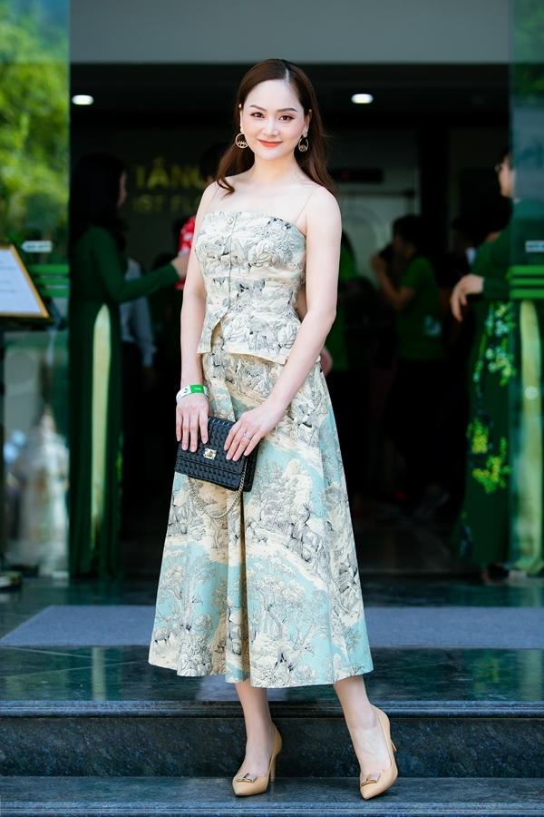 Cuối tuần qua, diễn viên Lan Phương tham gia một sự kiện tại Hà Nội.