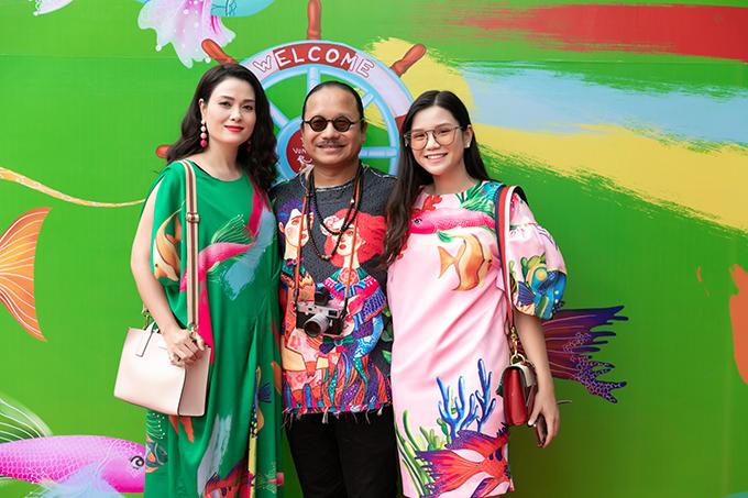 Gia đình nghệ sĩ Trần Mạnh Tuấn.