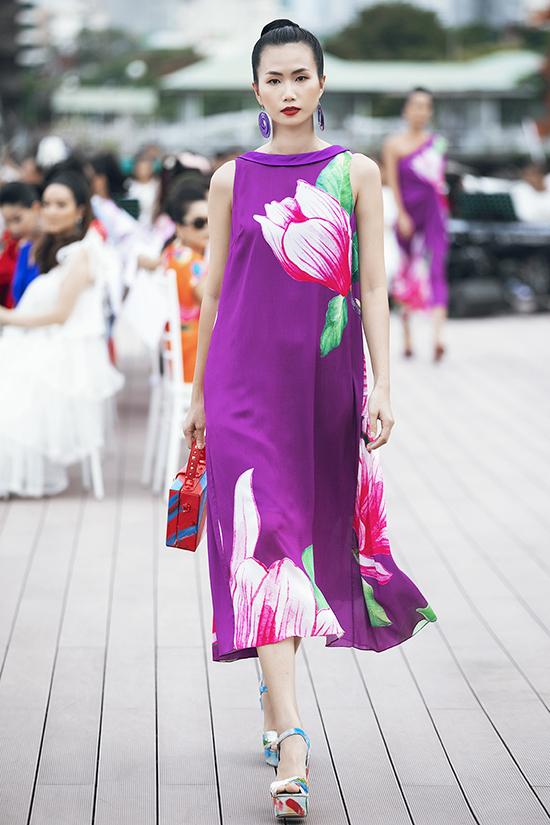 Dáng váy suông, phom rộng được khai thác một cách tối đa trong bộ sưu tập dành cho mùa hè 2019.