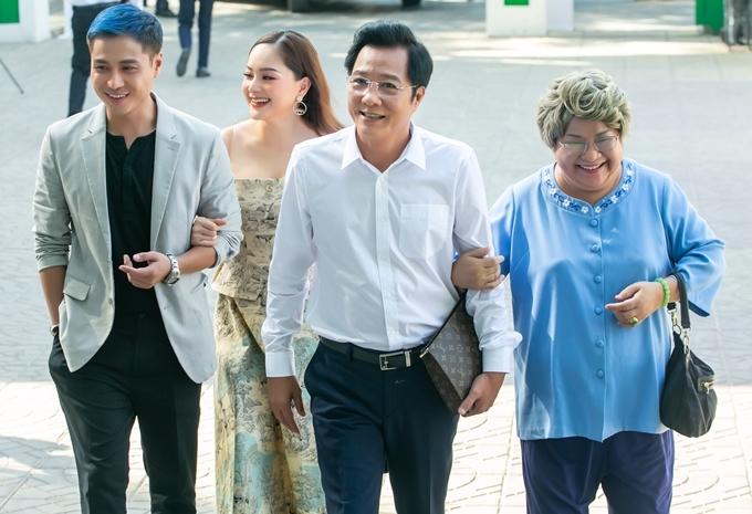 Lan Phương hội ngộ các diễn viên trong phim Nàng dâu order: