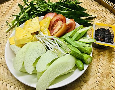 Canh chua tôm thanh mát trưa hè - 1