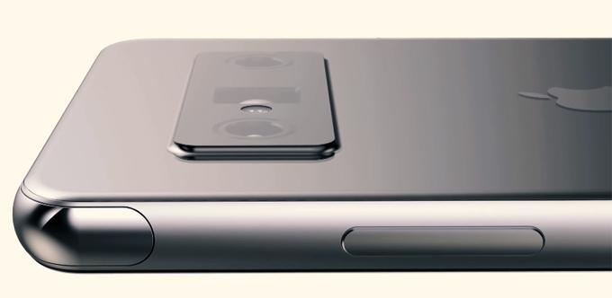 Bản dựng iPhone Pro với camera selfie ẩn dưới màn hình - 7