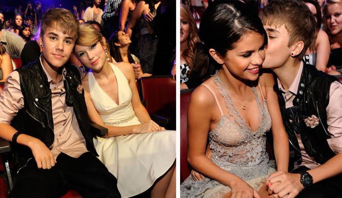 Justin Bieber và Taylor Swift từ bạn thành thù vì Selena Gomez - 3