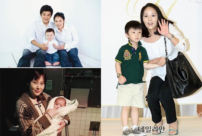 Những khoảnh khắc đẹp của Jeon Mi Seon và chồng con.