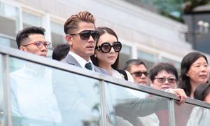 Quách Phú Thành đưa vợ trẻ đi xem đua ngựa