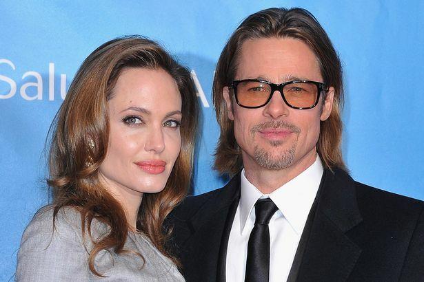 Angelina Jolie và Brad Pitt.