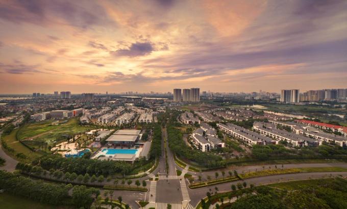Khu đô thị Gamuda Gardens hưởng lợi từ hạ tầng giao thông đồng bộ.