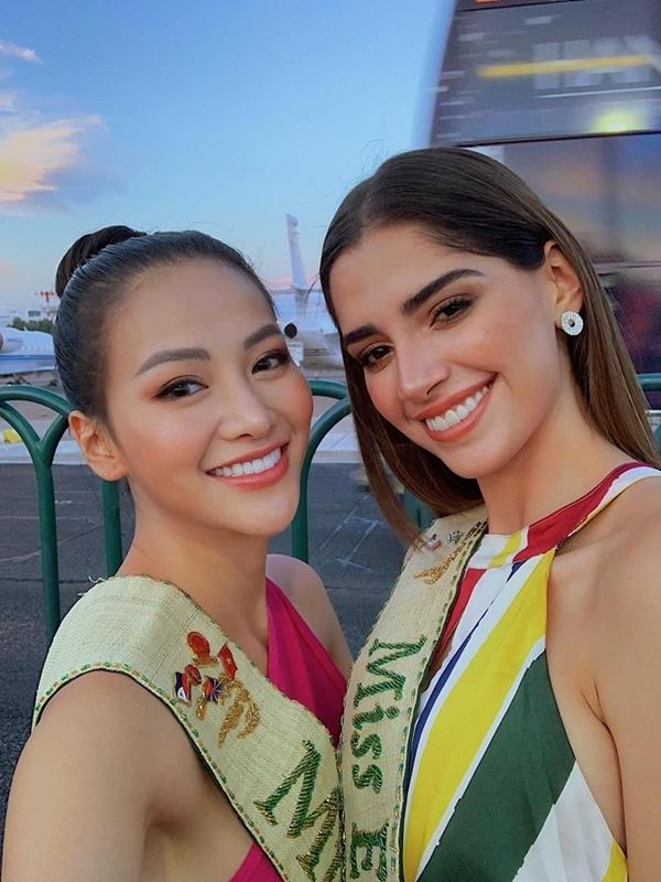 Phương Khánh sẽ trao lại vương miện Miss Earth vào tháng 11 tới tại Philippines.