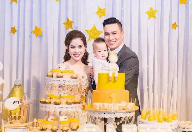 Tháng 3/2018, vợ chồng Việt Anh - Hương Trần tổ chức sinh nhật hoành tráng cho con trai Đậu Đậu.
