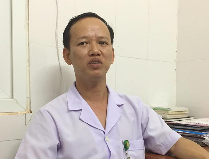 Bác sĩ Nguyễn Minh Đức. Ảnh: Hùng Lê