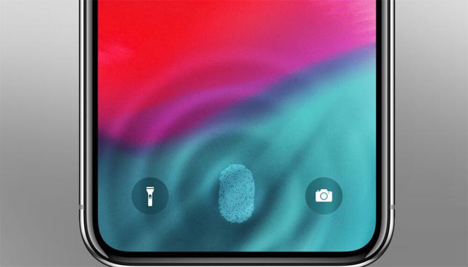 iPhone cho thị trường Trung Quốc có cảm biến vân tay dưới màn hình