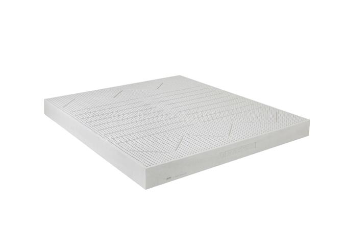 Sản phẩm thiết kết mái vòm, giúp nâng đỡ tối ưu trọng lượng cơ thể cho giấc ngủ sâu.