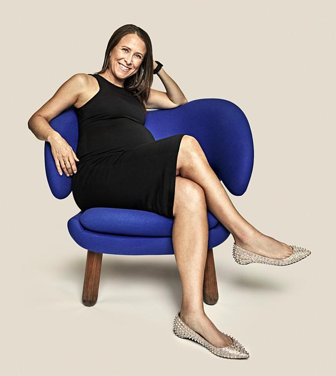 Bà trùm xét nghiệm ADN Mỹ Anne Wojcicki. Ảnh:Forbes.