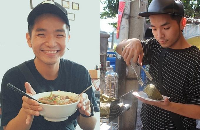 Phạm Hồng Phước từng tự tay phục vụ khách hàng những ngày đầu khai trương.